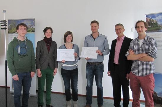 Op 19 april 2013 hebben René van Seumeren en Gerjanne Brink de MSc-Award ontvangen.